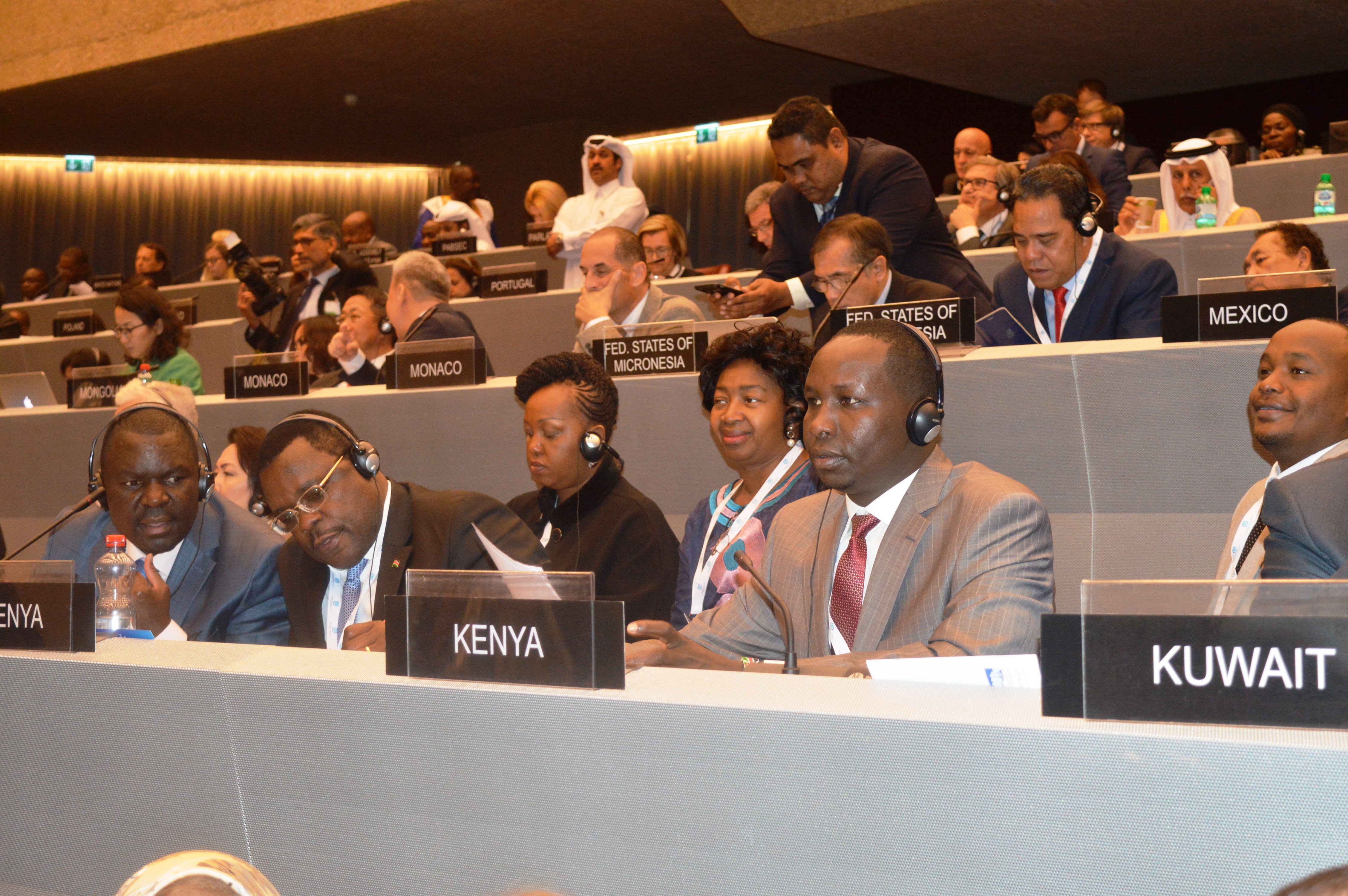Speaker Lusaka leads Kenya's Delegation as IPU Assembly Kicks off