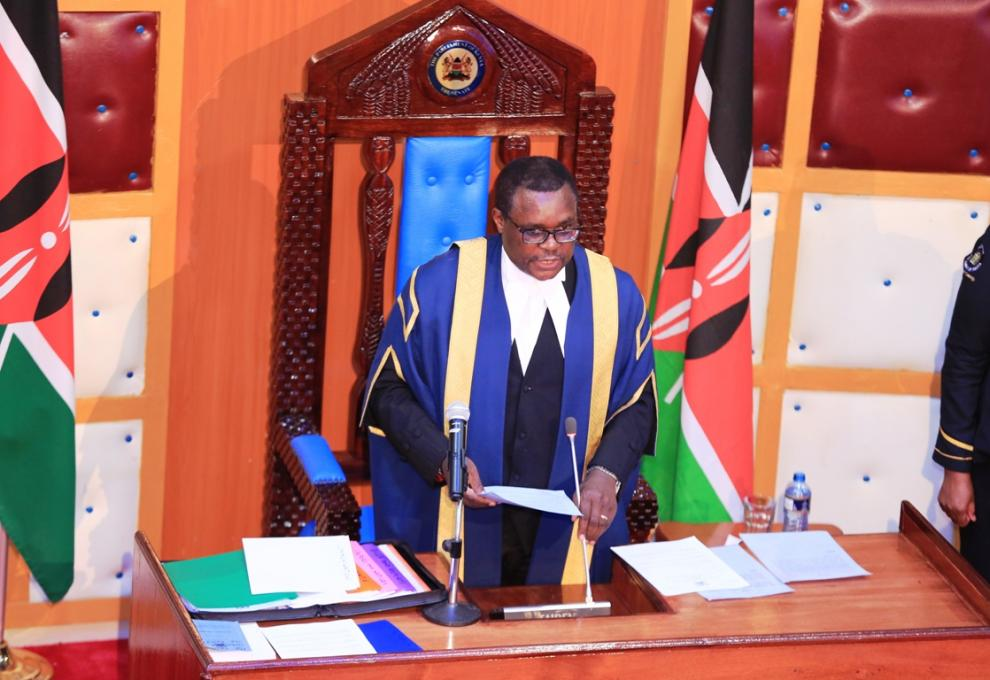 Inaugural Plenary Sittings in Kitui County Assembly