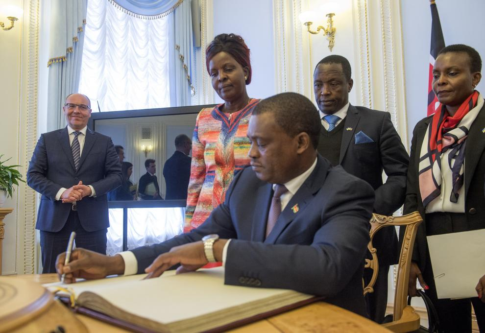 Kenya and Ukraine seek to enhance collaboration through Parliamentary Diplomacy