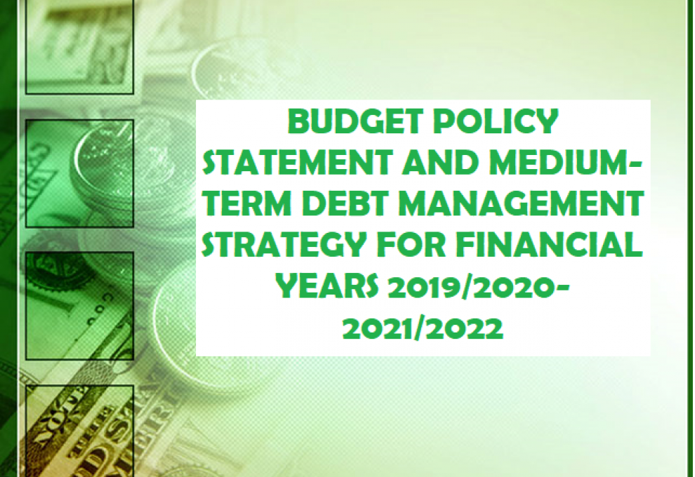 Budget Policy Statement