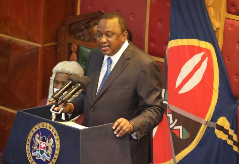 President Uhuru Addresses Parliament; Assures Country that the State of the Nation is Strong, Resilient and Steady