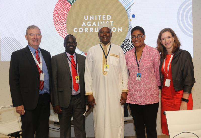 Speaker Muturi leads call for Repatriation of ill-gotten wealth at the 8th UN Anti-Corruption Forum in Abu Dhabi
