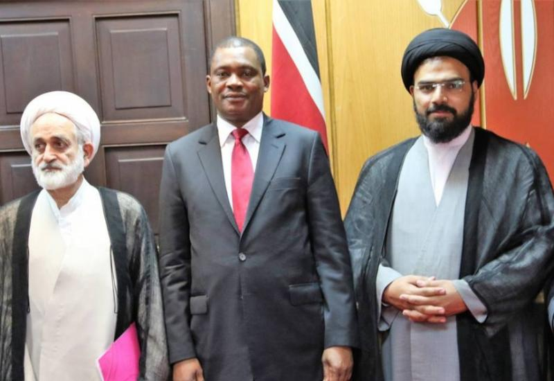 The Speaker of the National Assembly Hon. Justin Muturi hosts Parliamentary Delegation from the Islamic Parliament of Iran.