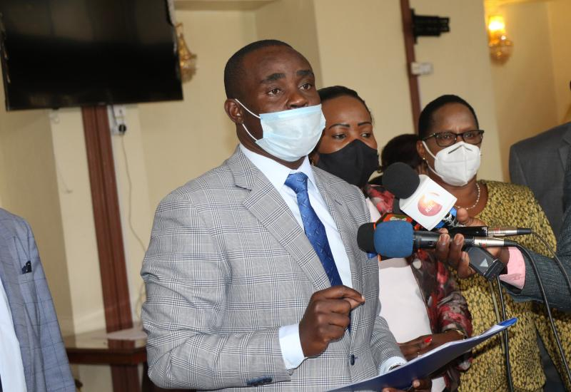 Sen Cleophas Malalah elected to Chair Special Committee to consider charges against Kirinyaga Governor