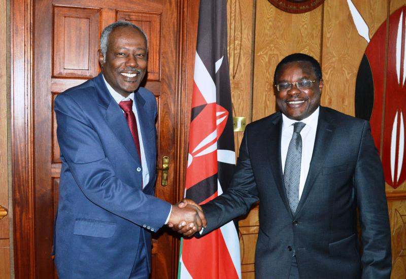 Speaker Lusaka Lauds Kenya-Sudan Relations as Envoy's Tour of Duty Draws to an End