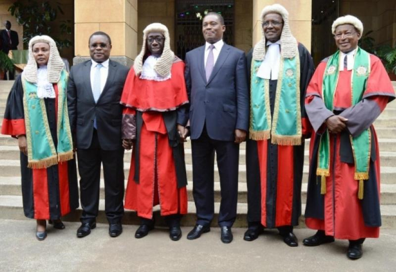 Speakers of Parliament Attend Swearing in of Justice Ouko as Appellate Court President